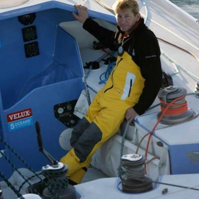 Skipper christophe bullens a bordo del five oceans of smiles 1 1